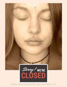 gezondheid-workshops, pijn door stress, rust, ogen dicht, ontspannen, hoofdpijn, burn-out, vermoeidheidslachten, Wereldconditie 'Light'